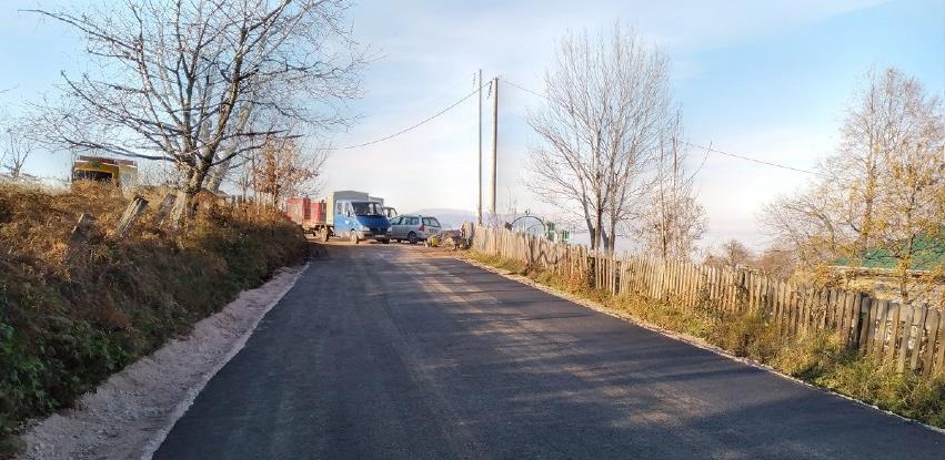 Završeno asfaltiranje dionice puta u Mjesnoj zajednici Podgajevi