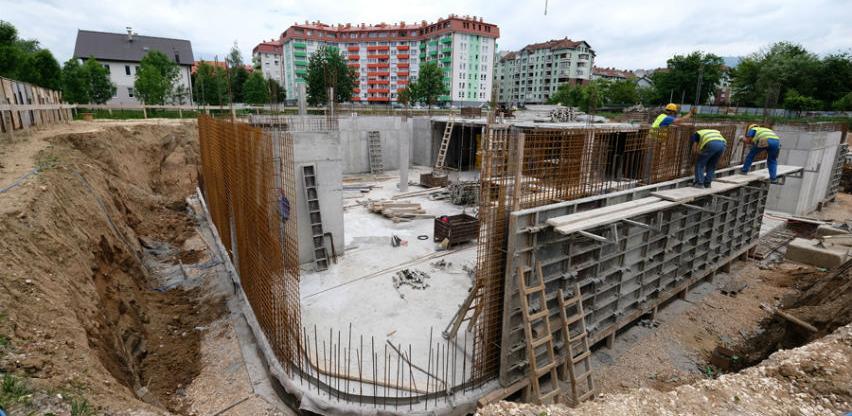 Počela izgradnja bazena na Dobrinji