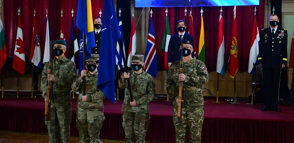 Brigadni general Folkestad preuzeo dužnost komandanta NATO štaba Sarajevo