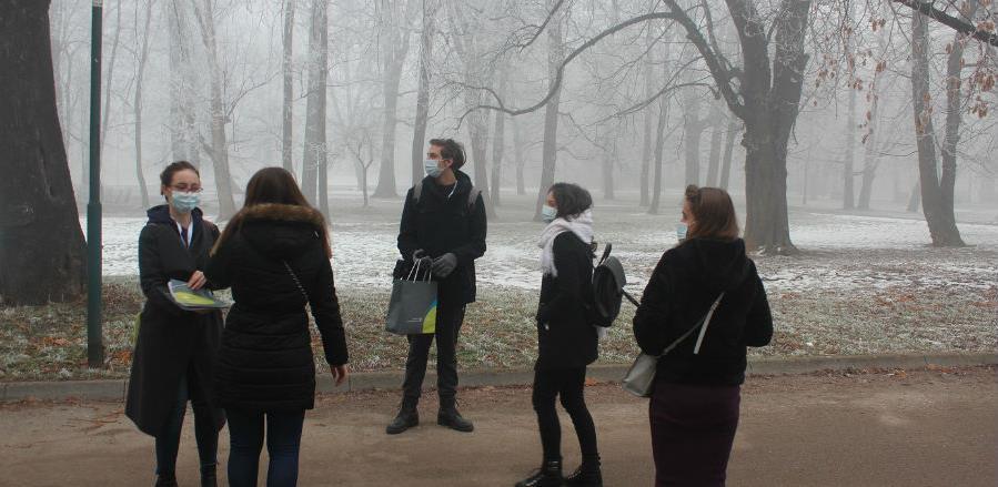 Mladi iz cijele BiH ukazuju na problem zagađenosti zraka u Sarajevu