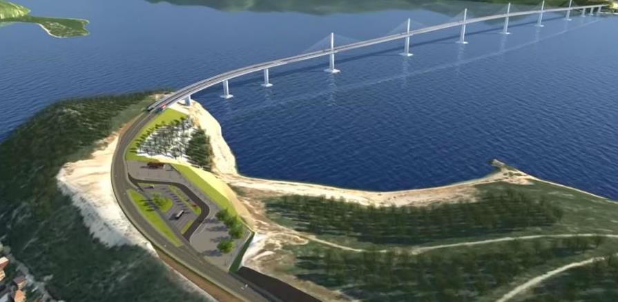 Objavljena 3D simulacija Pelješkog mosta i pristupnih cesta
