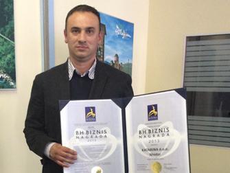 Dvije BH biznis nagrade Gazela za kompaniju Katarina iz Mostara