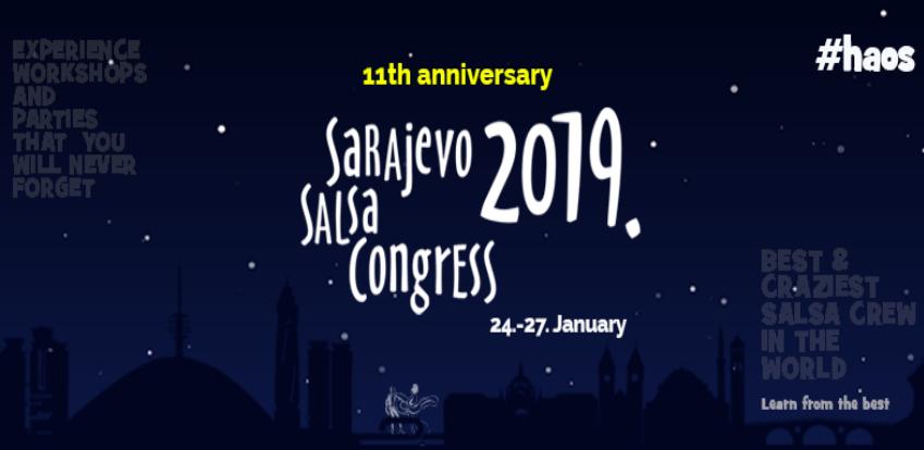Sarajevo spremno za još jedan 'Salsa Congress'