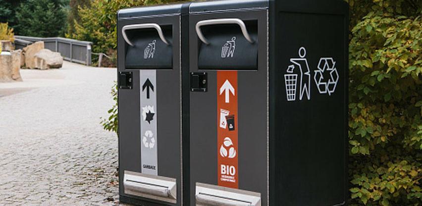 U upotrebi kante koje upozoravaju da ste u njih ubacili pogrešnu vrstu otpada