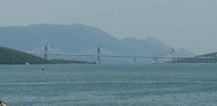 Pelješki most danas će biti spojen, šta će značiti to za Neum?