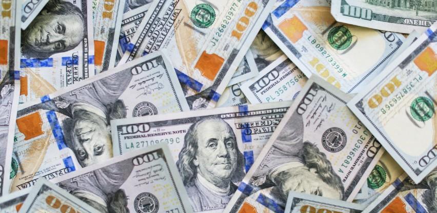 Dolarov indeks na najnižim razinama u četiri tjedana