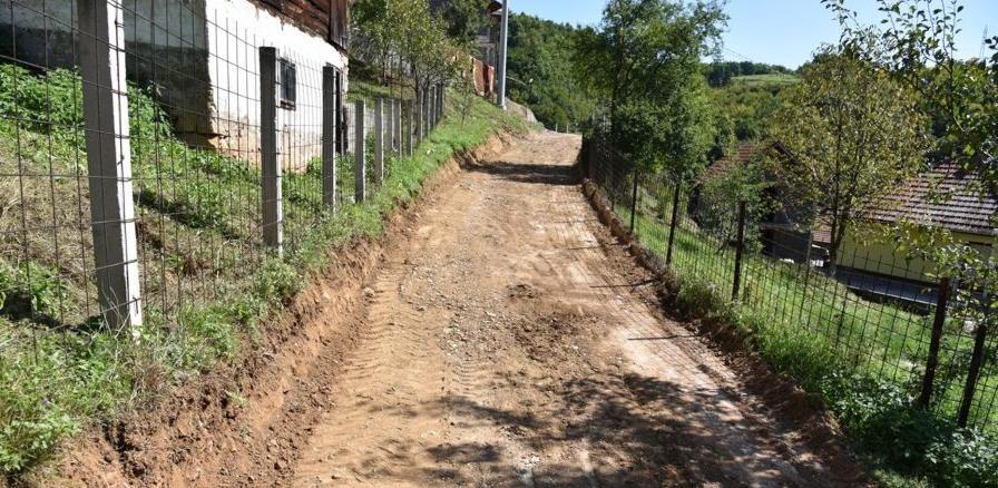 Zaboravljeni visočki Kaljuni će uskoro dobiti asfalt