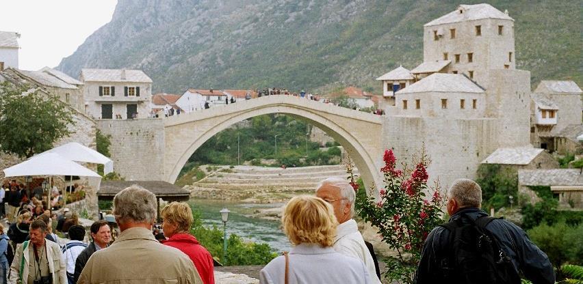 BiH u aprilu posjetilo svega 1.539 turista, 98,9 odsto manje