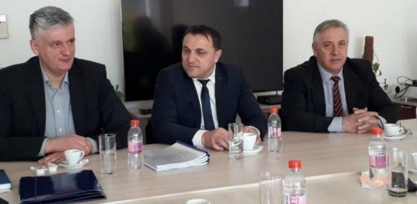 Potpisani ugovori za radove na Drini u Goraždu vrijedni preko 9 miliona KM