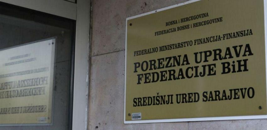 Porezna uprava FBiH pozvala obveznike da podnesu porezne prijave i plate obaveze