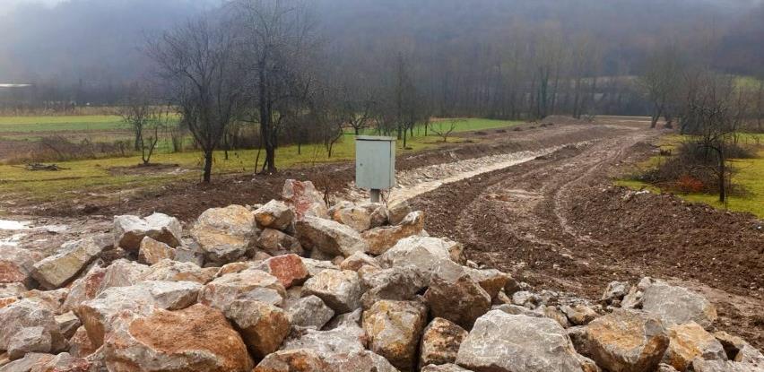 Radovi na regulaciji Zidinskog potoka se odvijaju planiranom dinamikom