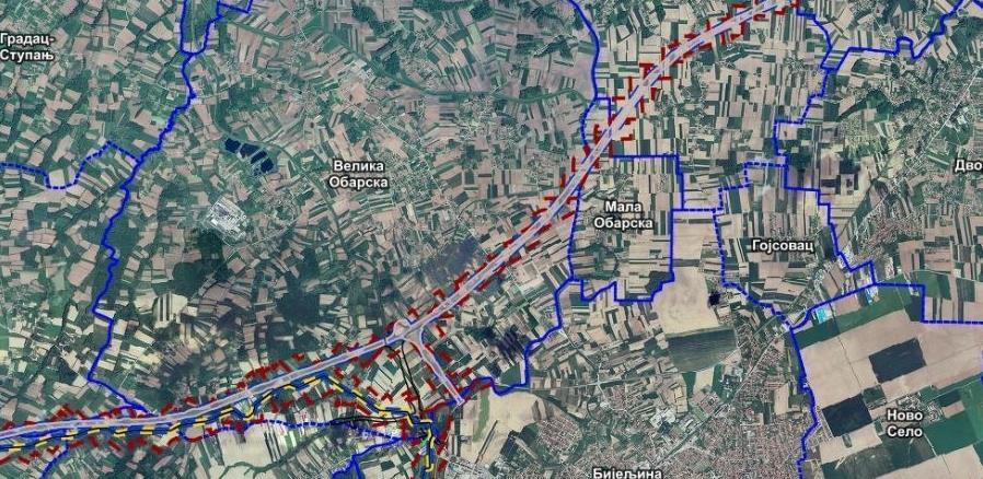 Postavljena konačna trasa dionice auto-puta i gasovoda od Rače do Brčkog