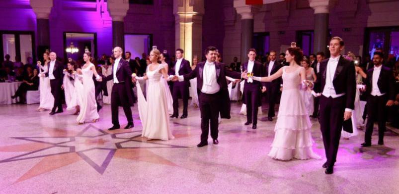 Prvi austrijski bal u Sarajevu