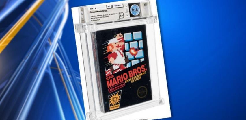 Igrica Super Mario Bros. iz 1986. godine prodata za 660.000 dolara