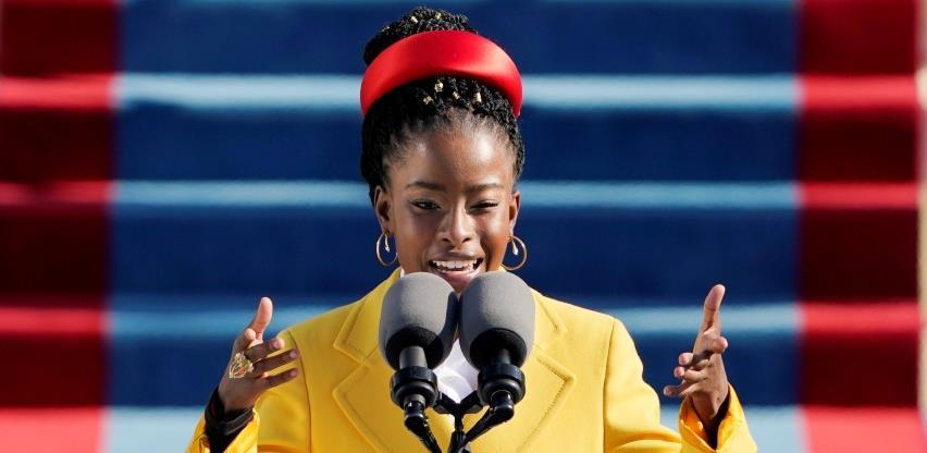 Mlada afroamerička pjesnikinja osvojila gledatelje na inauguraciji