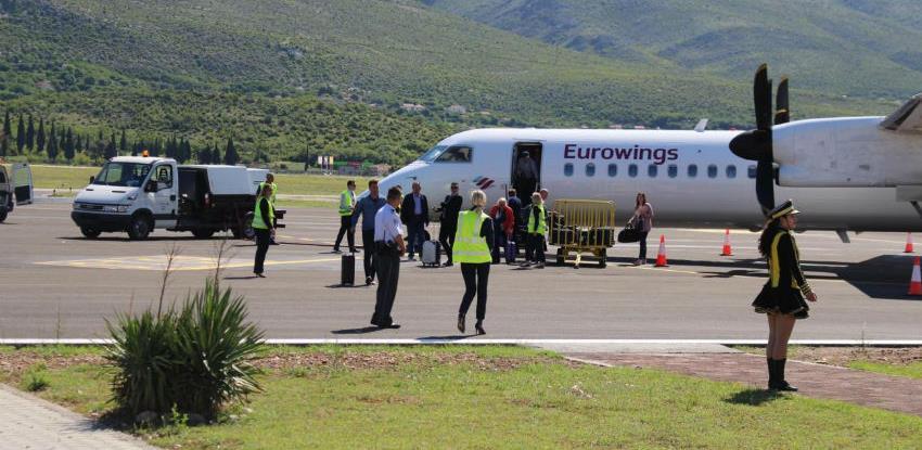 Mostarski aerodrom pregovara sa dva niskobudžetna prevoznika