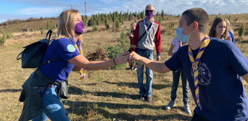Šest stotina sadnica posađeno na lokalitetu zeničkog izletišta Smetovi