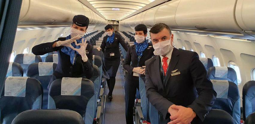 Air Serbia: Maska obavezna za sve putnike i posadu aviona