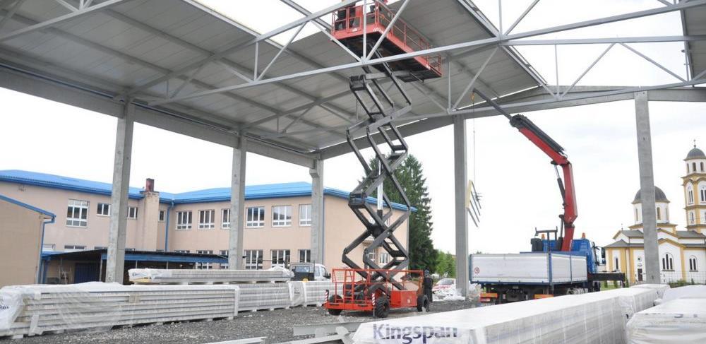 U prijedorskoj Omarskoj se gradi sportska dvorana i distributivni centar