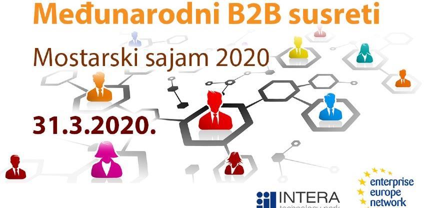 Ostvarite poslovne kontakte na međunarodnim B2B susretima u Mostaru