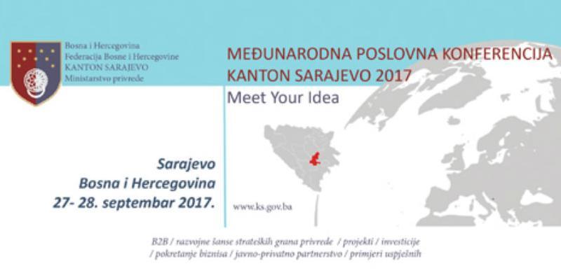 """U septembru """"Međunarodna poslovna konferencija Kantona Sarajevo 2017"""""""