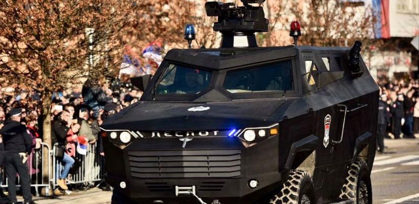 "Predstavljeno oklopno vozilo ""Despot"" iz Bratunca"