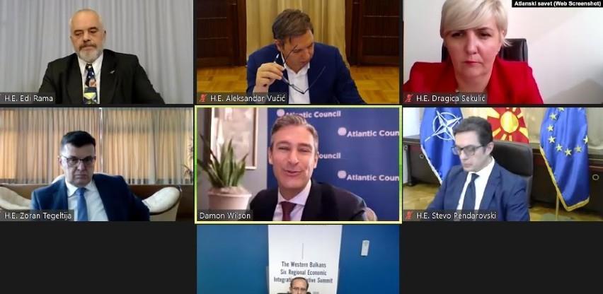 Video samit balkanskih lidera: Zajedno možemo više