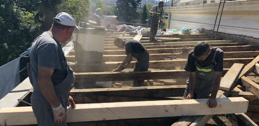 Započeli radovi na restauraciji krovova Zemaljskog muzeja BiH