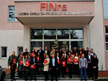 FINconsult završio obuku 20. generacije Certificiranih računovođa u Tuzli