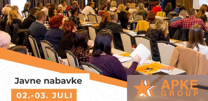Apke Group organizuje veliko dvodnevno savjetovanje iz javnih nabavki