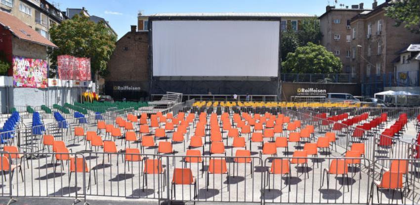 26. SFF - Podignuto najveće filmsko platno u regiji