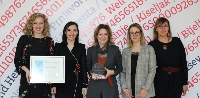 Addiko Bank Sarajevo jedina banka u BiH s certifikatom Poslodavac Partner