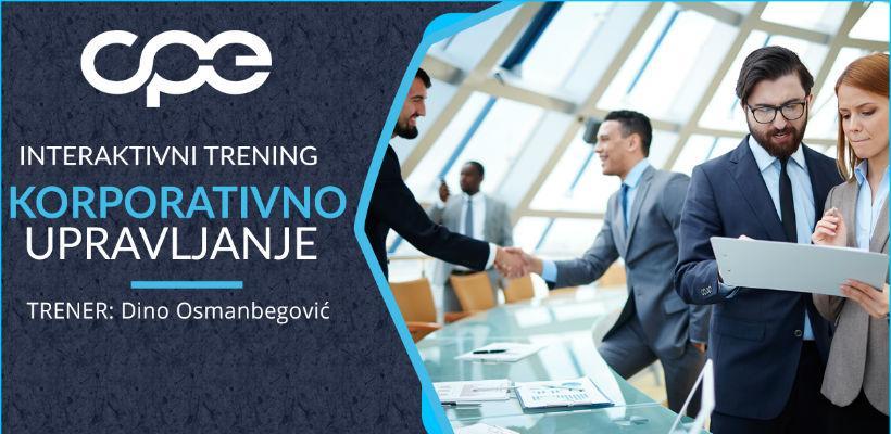 Trening: Korporativno upravljanje