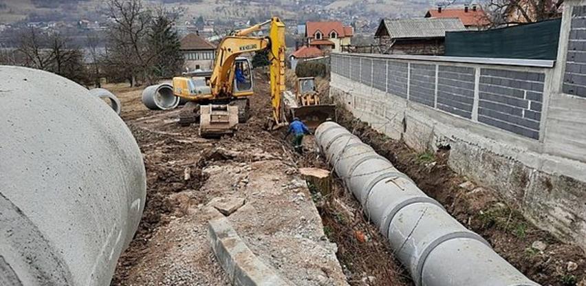 U toku projekat reagulacije Ciganskog potoka u Zenici
