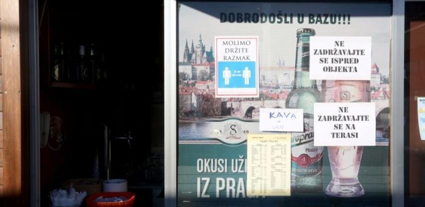 """Popuštanje mjera u Hrvatskoj: Kafići otvorili vrata uz """"kafu za ponijeti"""""""