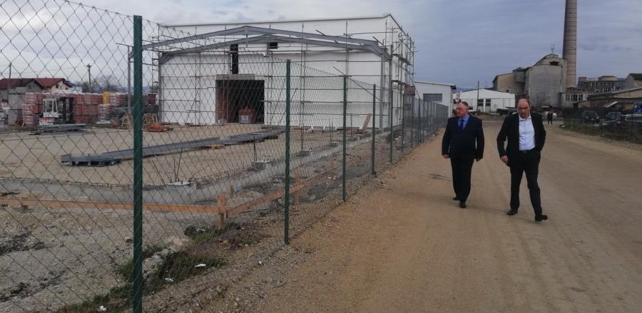 U toku izgradnja četiri industrijska objekta u Celpaku