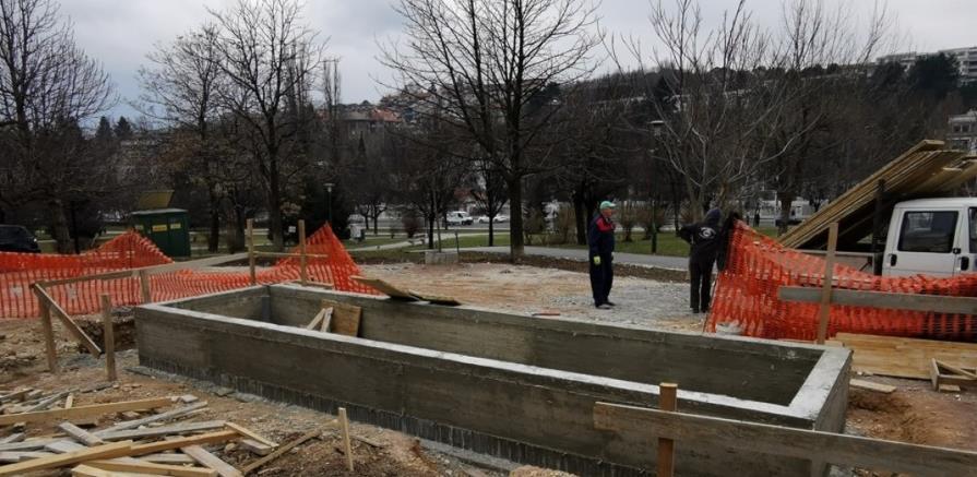 U Parku svjetlosti izgrađena fontana