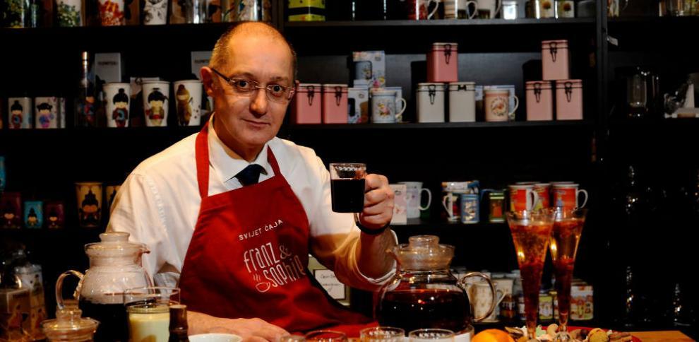 Adnan Smajić, jedini sommelier za čaj na Balkanu