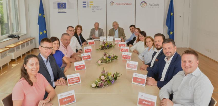 ProCredit i EIF osigurali 1,62 milijardi eura za mala i srednja preduzeća