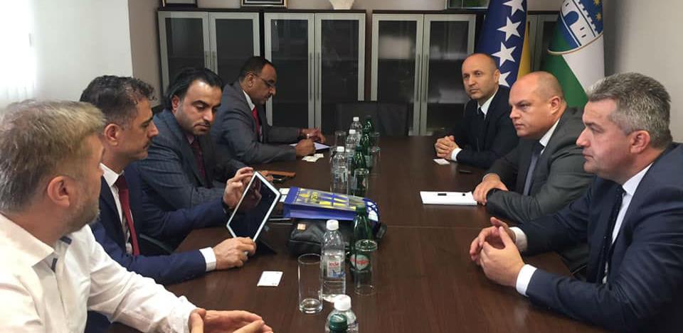 Privredna delegacija iz Emirata izrazila interes za ulaganje na području USK