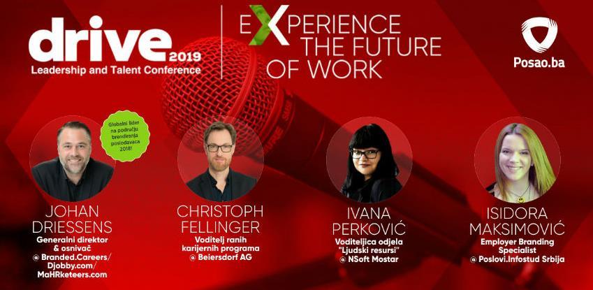 DRIVE konferencija: Budućnost HRM-a je ovdje i sada