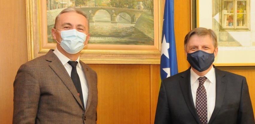 Guverneri centralnih banaka BiH i Crne Gore razgovarali o uticaju pandemije