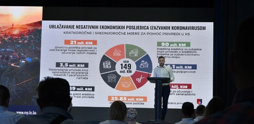 Privrednicima u Novom Sarajevu predstavljen Program razvoja male privrede 2021.