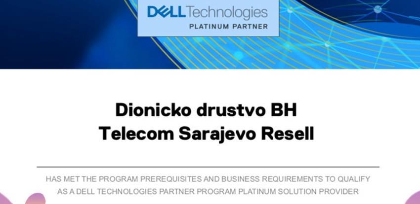BH Telecom postao Platinum partner u pružanju usluga kompanije DELL Technologies