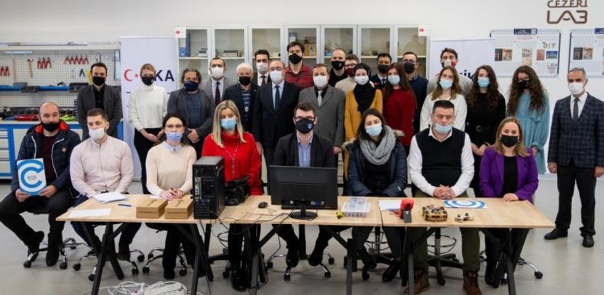 """""""Otac robotike"""" u Sarajevu: Na IUS-u otvorena nova FABLAB laboratorija"""