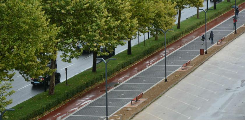Pri kraju uređenje šetnice uz Bulevar Meše Selimovića