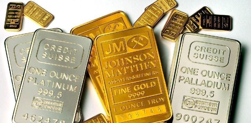 Veliki rast cijena zlata, srebra i paladijuma