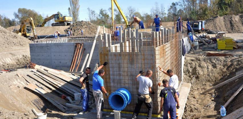 Prva faza gradnje sistema za navodnjavanje u Semberiji