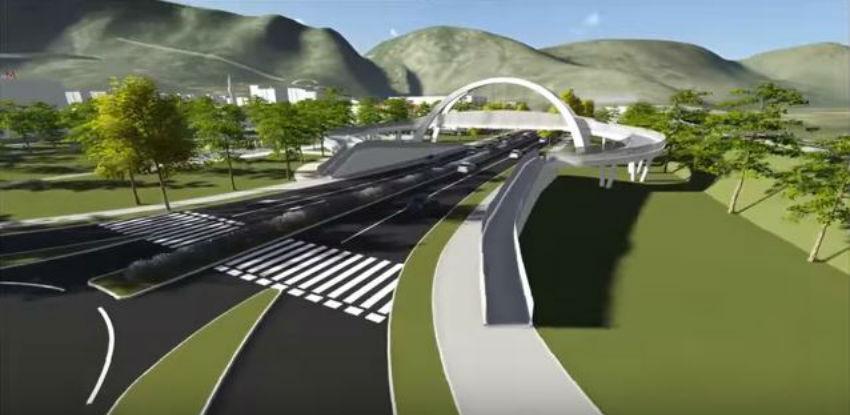 Pasarela Zalik: Mostar za dva mjeseca dobija sjeverni ulaz u grad
