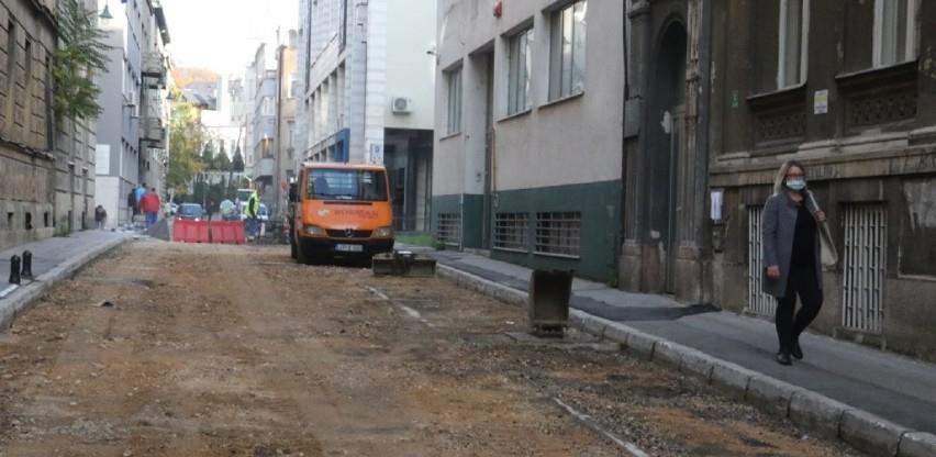 Napreduju radovi na sanaciji saobraćajnice u Ulici Danijela Ozme